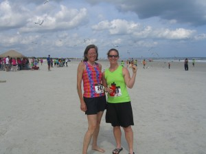 Us after the race!